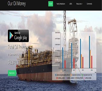 Our oil money online' platform launched