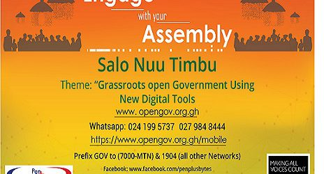 Grassroots Open Government Using New Digital Tools