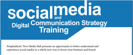 Penplusbytes announces Social Media and Digital Communication Strategy Training for Professionals