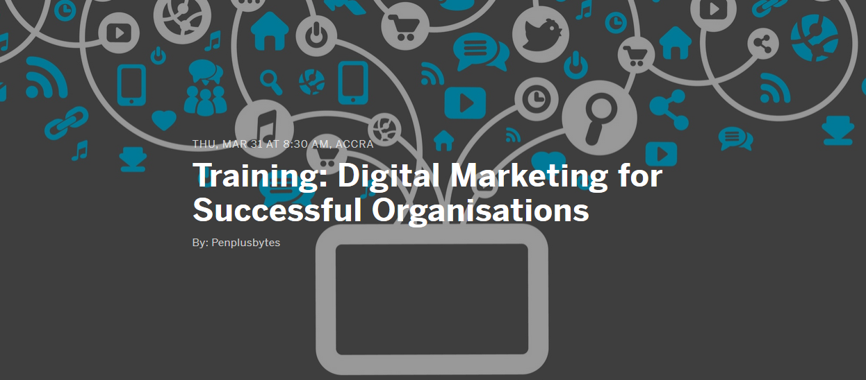 New Training: Digital Marketing for Successful Organisations