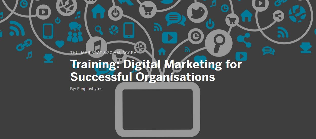 New Training: Digital Marketing for Successful Organisations
