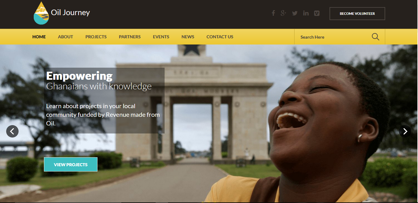 Our Oil Journey Online Platform Launched to Track Ghana's Oil Revenue Utilization