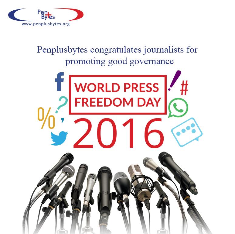 Penplusbytes Congratulates Journalists on World Press Freedom Day
