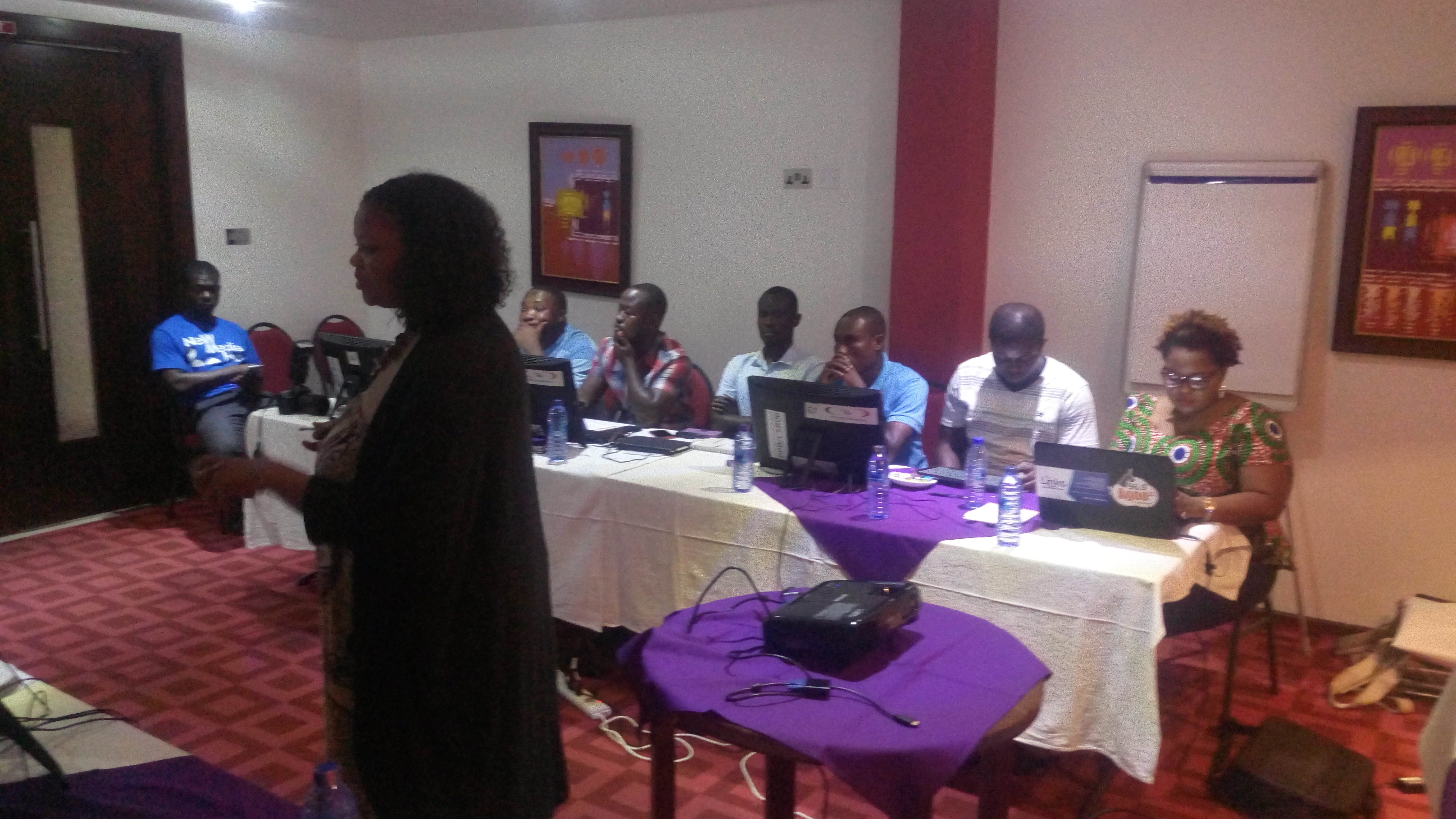 Penplusbytes, EIB end 3-Day Data Journalism Workshop for Election Reporting in Accra