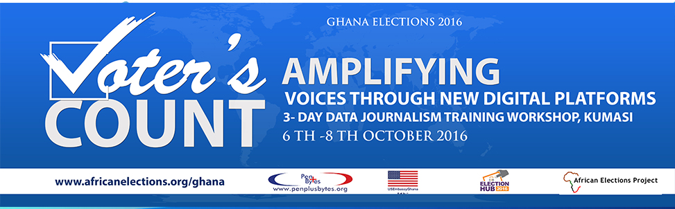 Penplusbytes & EIB Network Lead in Elections Reporting Using Data Journalism