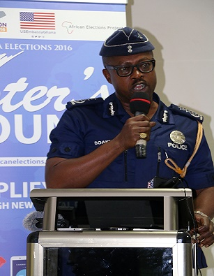 Security Agencies Cannot Win Elections for Any Party – COP Kofi Boakye