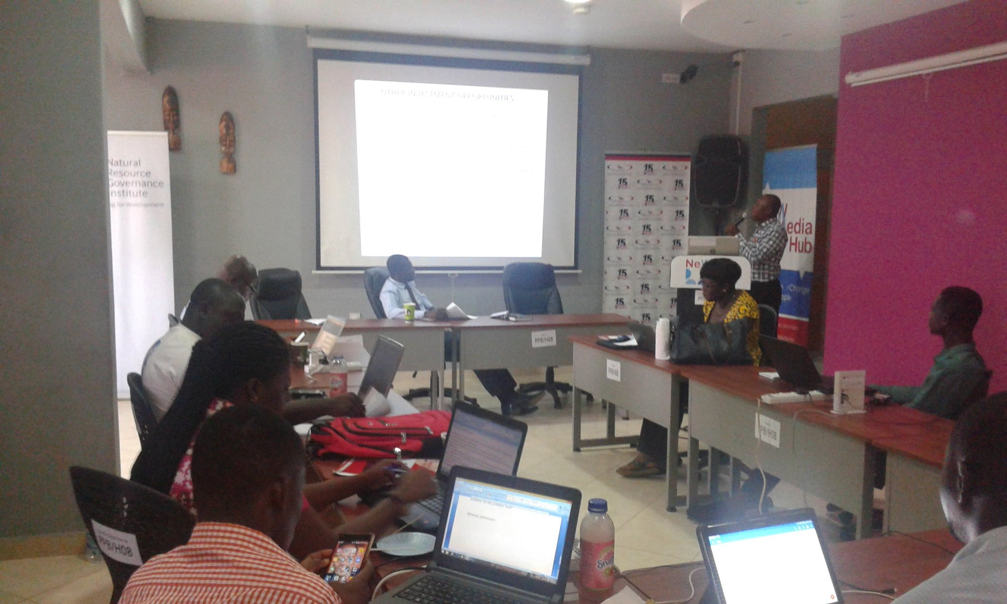 "7TH National Course ""B"" On Oil, Gas and Mining Governance Underway in Accra"