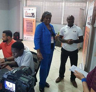 US Assistant Secretary, Others Visit Social Media Tracking Centre