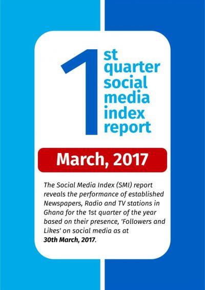 1st Quarter Social Media Index Report – March 2017