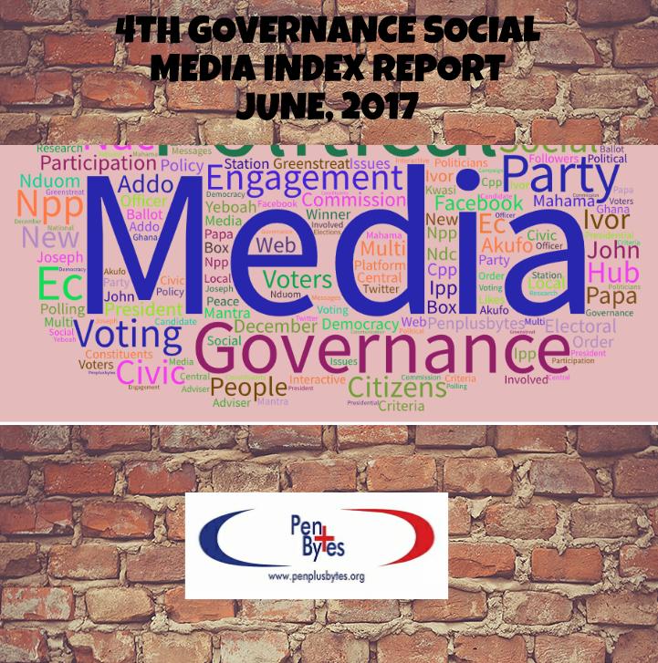 4TH GOVERNANCE SOCIAL MEDIA INDEX REPORT