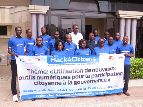 """Penplusbytes' """"Hack4Citizens"""" first day in Cotonou Successful"""