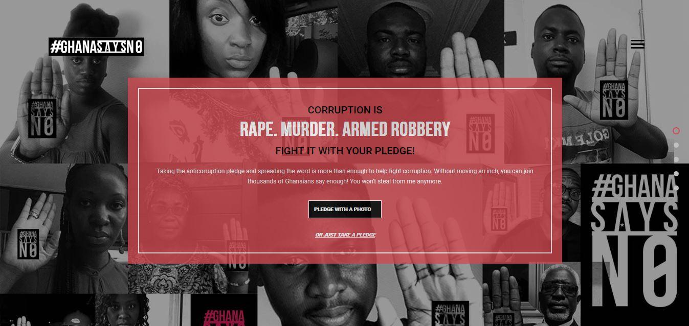 Corruption is Rape- New anti-corruption campaign launched
