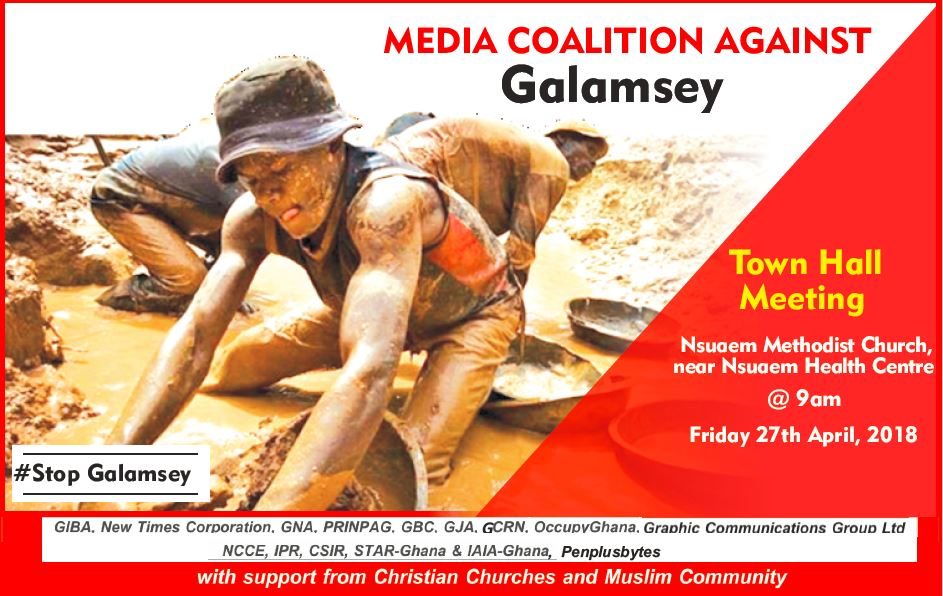 Media Coalition Set to Engage Citizens on the ills Of Galamsey