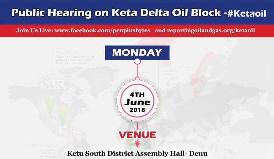 Penplusbytes' www.reportingoilandgas.org to amplify Keta Delta Block Hearings