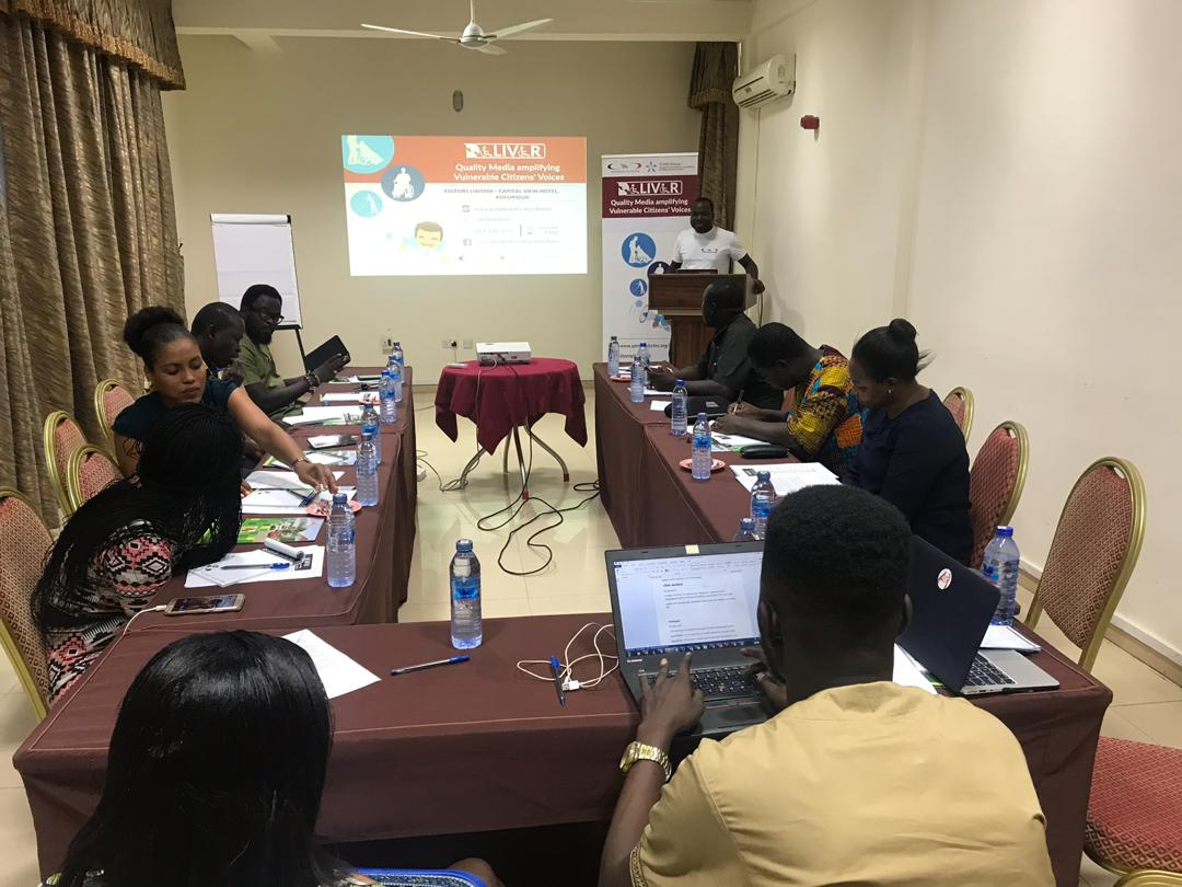 News Editors Pledge to refocus their lens on PWD Issues in Ghana