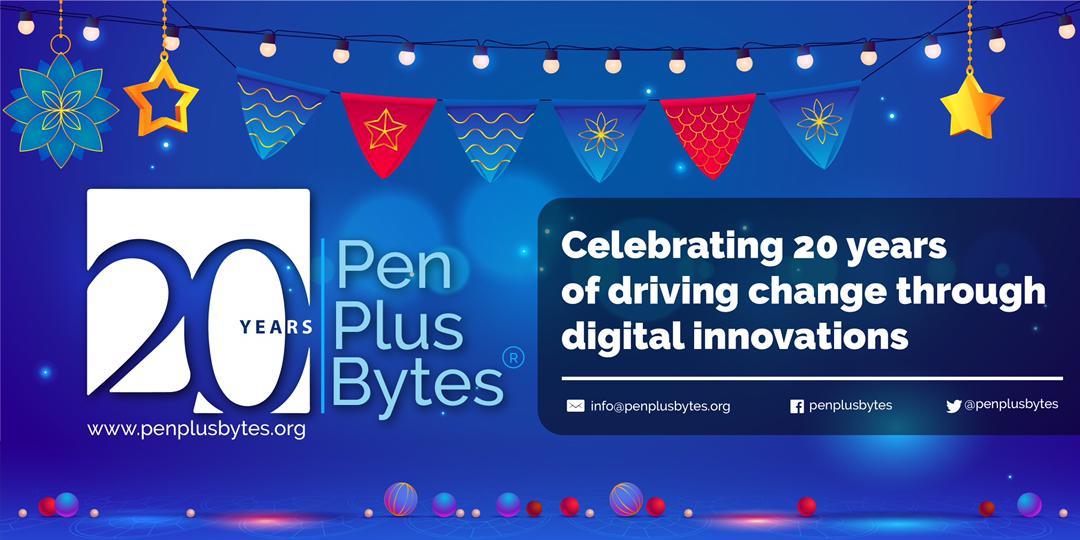 Penplusbytes celebrates 20th Anniversary