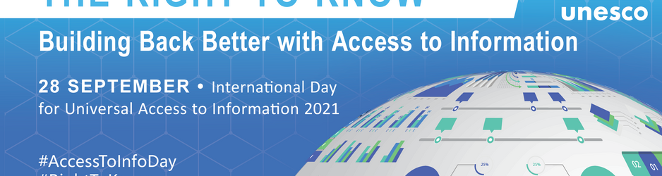 A PRESS STATEMENT TO MARK INTERNATIONAL DAY FOR UNIVERSAL ACCESS TO INFORMATION